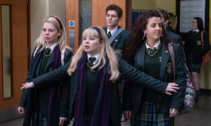 The cast of Derry Girls, a programme virtually ignored by the Guardian, says Corinne Male.