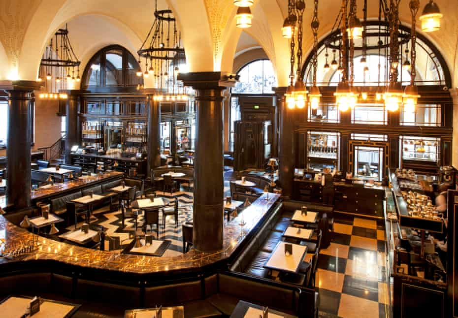 The Wolseley dining room