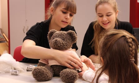 Initiatives like the Teddy Bear Doctors at Sheffield University enable students to give back to the local community.