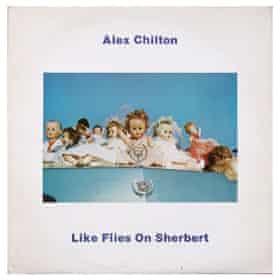 Like Flies On Sherbert LP cover 1980 featuring Eggleston image