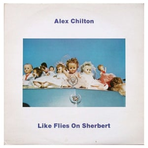 Like Flies On Sherbert LP cover 1980 featuring Eggleston image