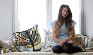 Zoella, aka Zoe Sugg, a YouTube vlogger who frequently talks about mental health issues.