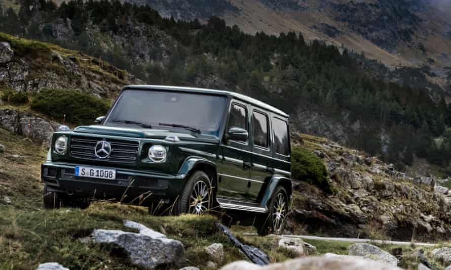 'Equally at home plodding through traffic or along a muddy track': the Mercedes-Benz G-Wagon