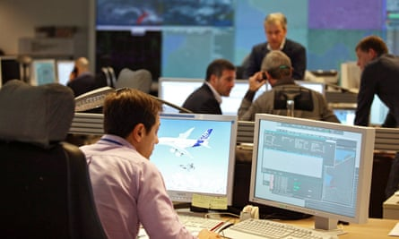 The offices of Eurocontrol