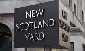 Scotland Yard, the Metropolitan police HQ
