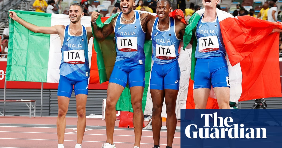 'Italy's fairytale': men's 4x100m gold continues summer of success