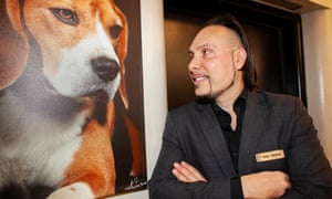 For Jerry Grymek, the Hotel Pennsylvania's designated doggie concierge, no request is too eccentric