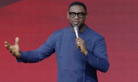 Nigerian pastor Biodun Fatoyinbo
