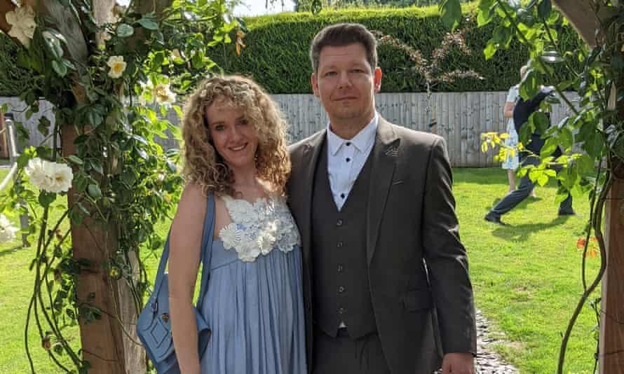 Lizzie Cernik and her boyfriend Bart.
