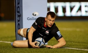 Saracens centre Nick Tompkins has been selected by Wales for the Six Nations. The 24-year-old had been linked with an England call-up