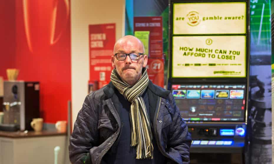 Former FOBT addict Martin Paterson