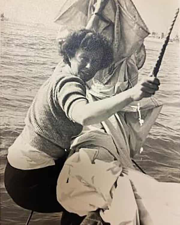Hocquard sailing to France