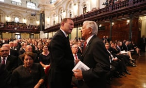Tony Abbott has drawn strong criticism for the partisan tone of his Twitter tribute to Bob Hawke