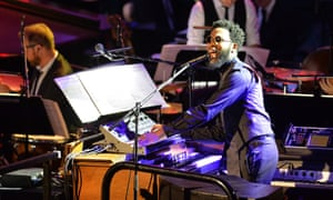Ecstatic synth improv … Cory Henry performs with the Metropole Orkest.