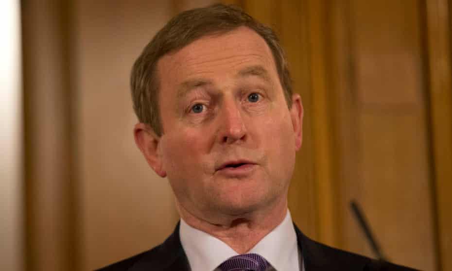 Enda Kenny, the Irish taoiseach
