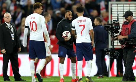 Gareth Southgate says England hat-trick hero Raheem Sterling was devastating