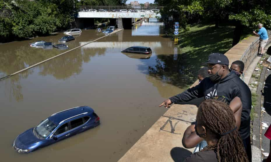 Flooding in Bronx, New York, this month.