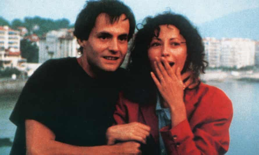 Vincent Gauthier and Marie Rivière in Éric Rohmer's The Green Ray.