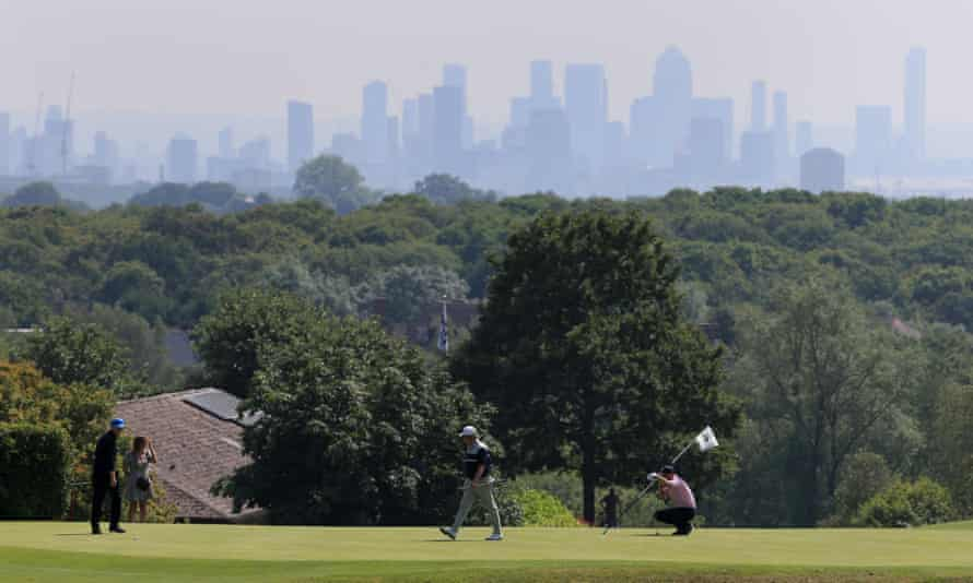 West Essex golf Club in London.