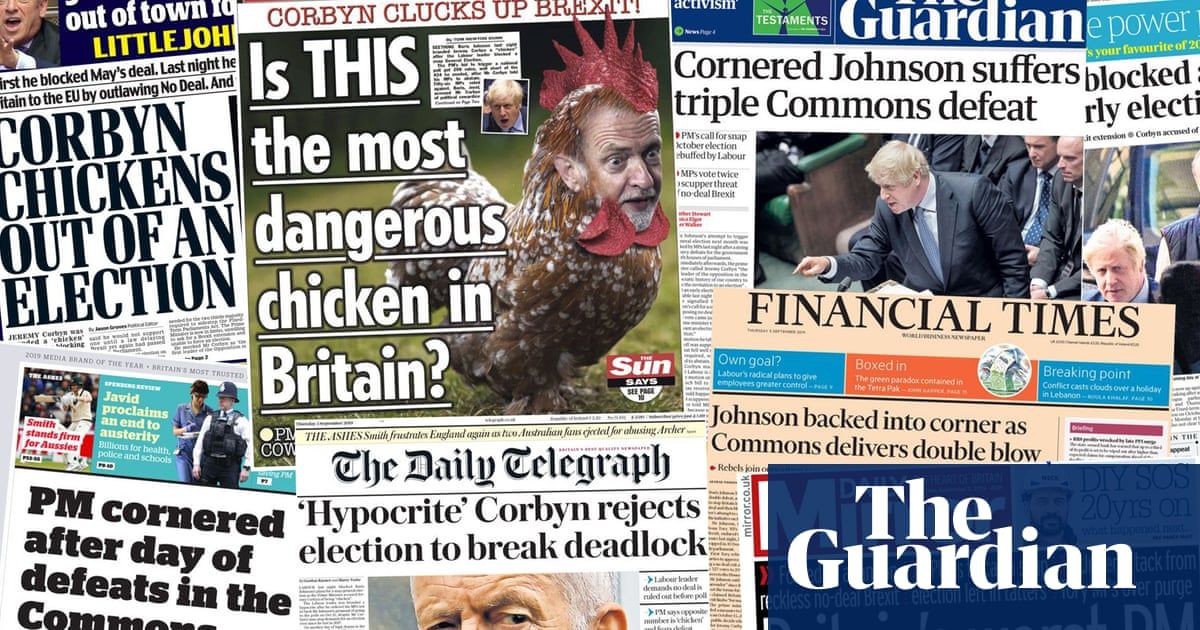 PM cornered: how the papers covered Johnsons horror day in Commons