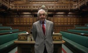 Still hard at work … Dennis Skinner in the House of Commons