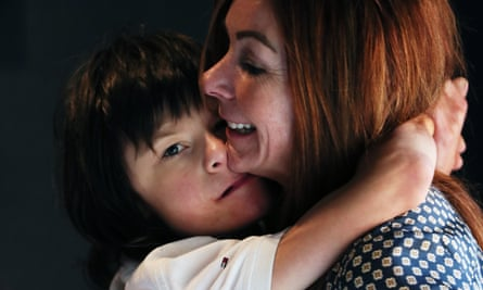 Billy Caldwell and his mother, Charlotte