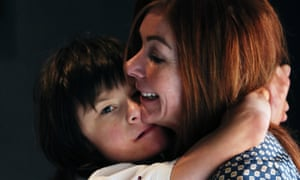 Billy Caldwell with his mother, Charlotte. The family were granted a licence for cannabis oil to treat his epilepsy.