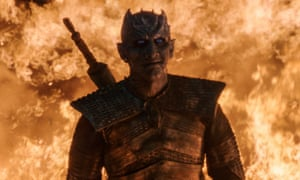 Game of Thrones, aired weekly, was one of this year's most talked about shows.