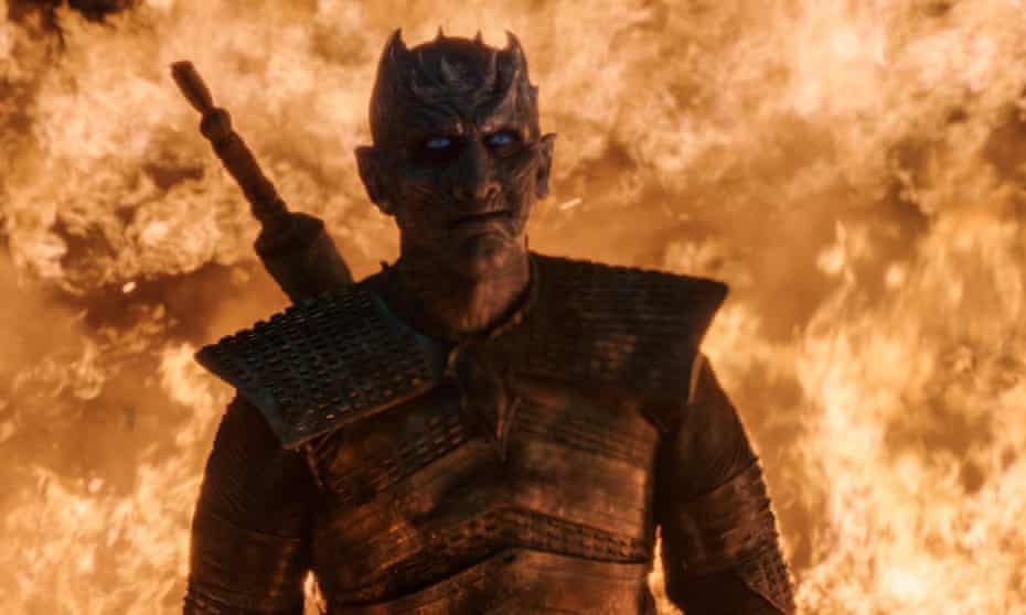 Chillingly well-realised ... The Night King.