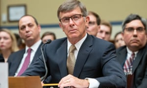 Joseph Maguire testifies before the US House on 26 September 2019.