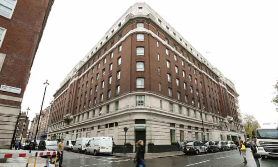 The Cumberland hotel in central London
