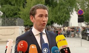 Sebastian Kurz, the Austrian chancellor