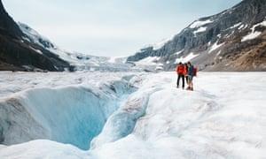 The Athabasca Glacier