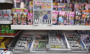 The Sun is no longer the top seller on the UK's newsstands.