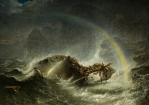 The Shipwreck, 1859 by Francis Danby.