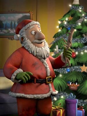 Stick Man and Santa