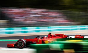Charles Leclerc on his way to victory.
