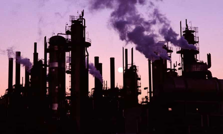 A Chevron oil refinery