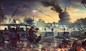 Ubisoft's forthcoming shooter, The Division 2, features images of the White House burning amid a civil war – yet the creative director saw no political statement