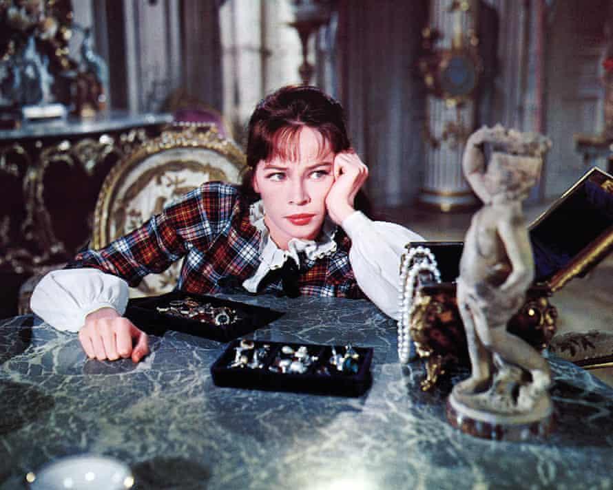 Leslie Caron as Gigi in the 1958 film of the same name