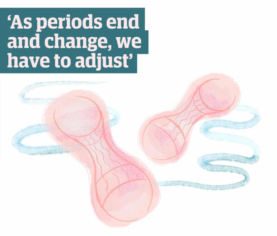 Quote: 'As periods end and change, we have to adjust'