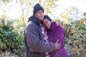 Homeless couples, William and Leelee. For Outside in America