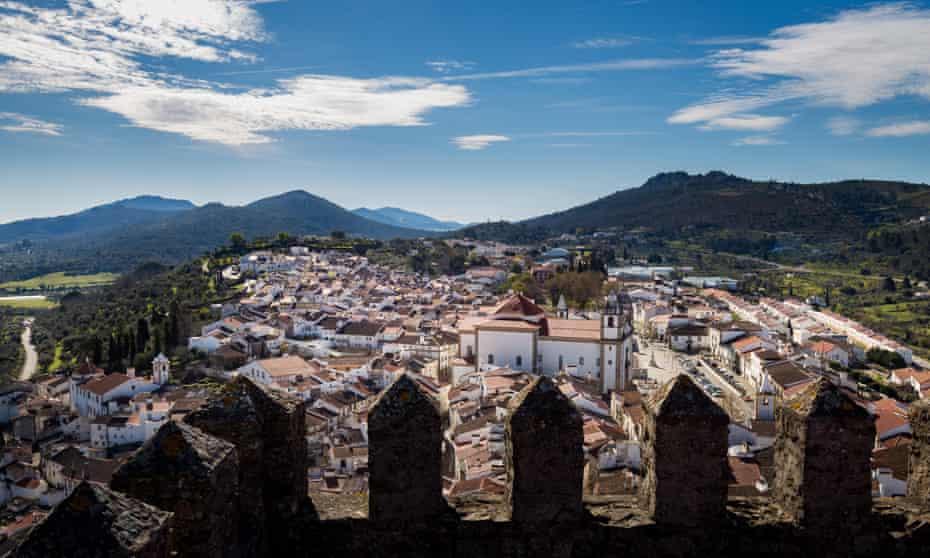 The Portuguese town of Castelo de Vide.