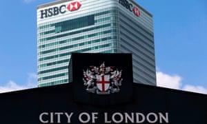 HSBC building London