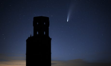 How to find comet Neowise, lying low in the northern sky