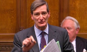 A video grab from parliamentary coverage on 13 December.