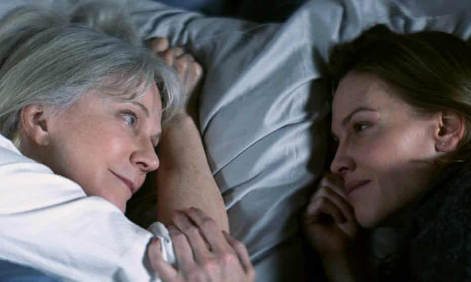 Classy performance … Blythe Danner, left, with Hilary Swank in What They Had.