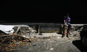 'Silicon Valley can pitch VR as a catalyst of deep interpersonal connection.' A scene in San Juan after Hurricane Maria devastated the island.