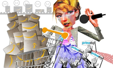 Prime Day has become so bloated that it is now a star-studded mega-festival of capitalism, hence Taylor Swift's involement.