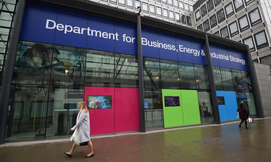 The Department for Business, Energy and Industrial Strategy
